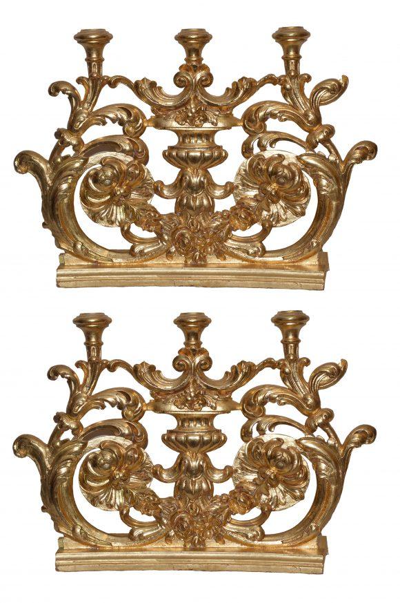 Paire d'éléments décoratifs – France