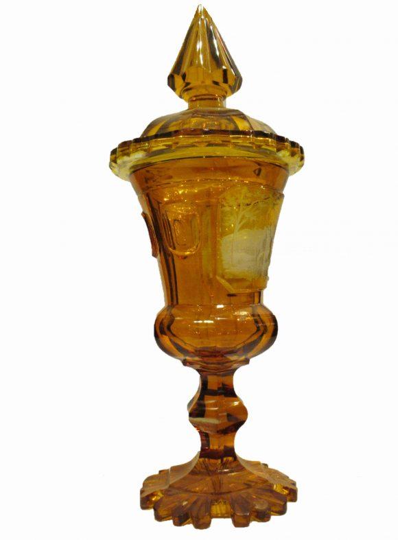 Coupe couverte – Cristal de Bohême