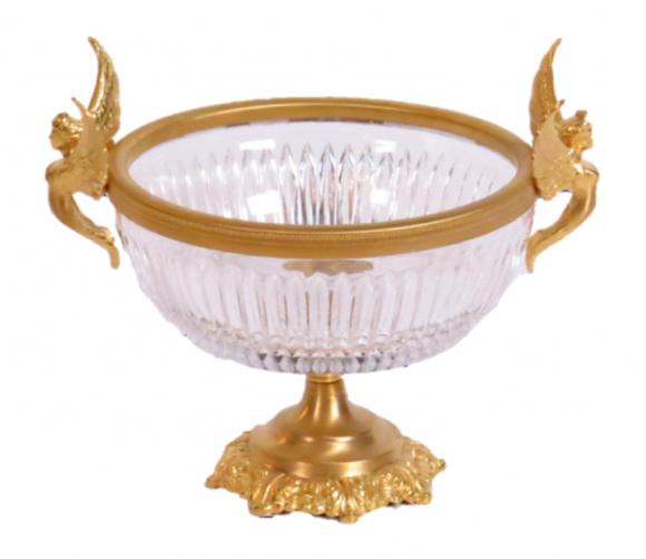 Centre de table à large coupe – Cristal de Baccarat