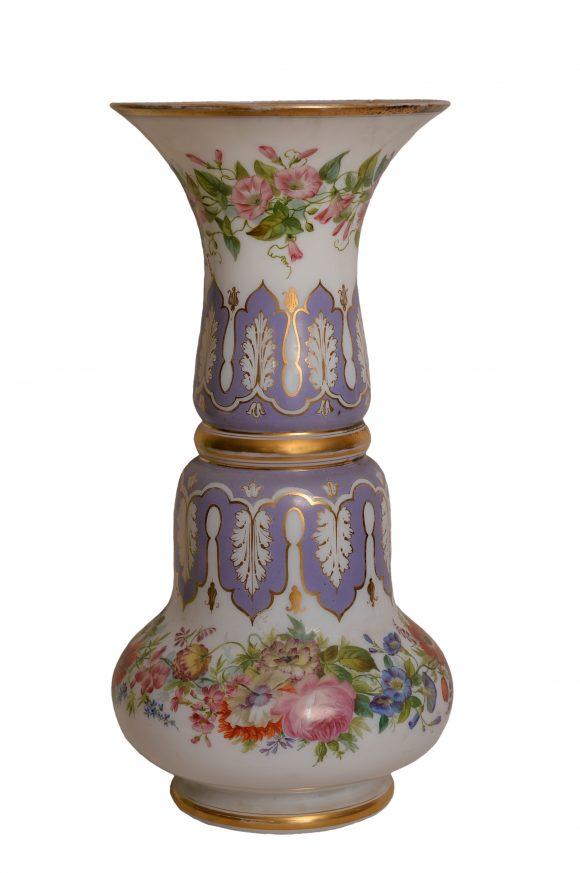 Vase en Opaline de Baccarat