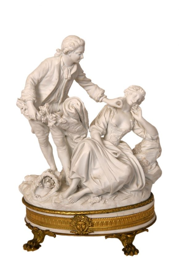 Groupe de figurines – Biscuit de Sèvres