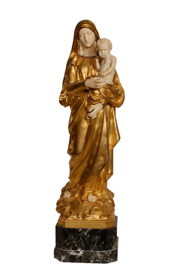 La Vierge et l'enfant – Eugène Marioton