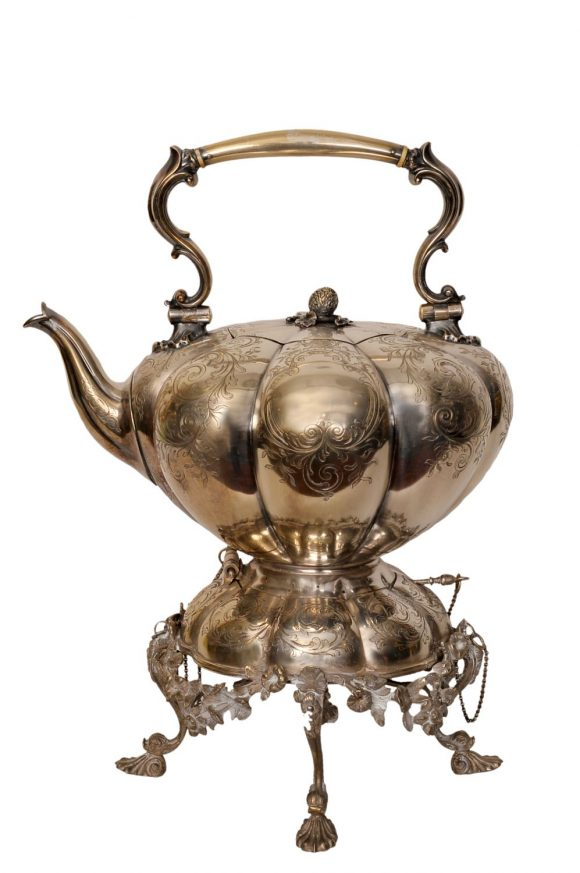 Fontaine à thé – argenterie anglaise