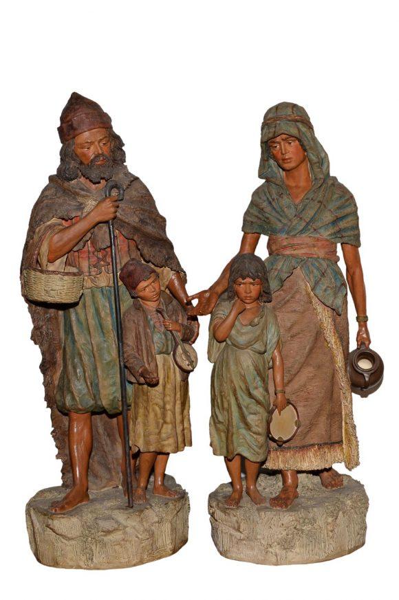 Paire de sculptures orientalistes