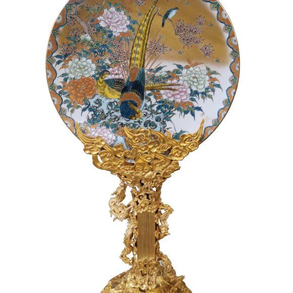 Plat en porcelaine japonais