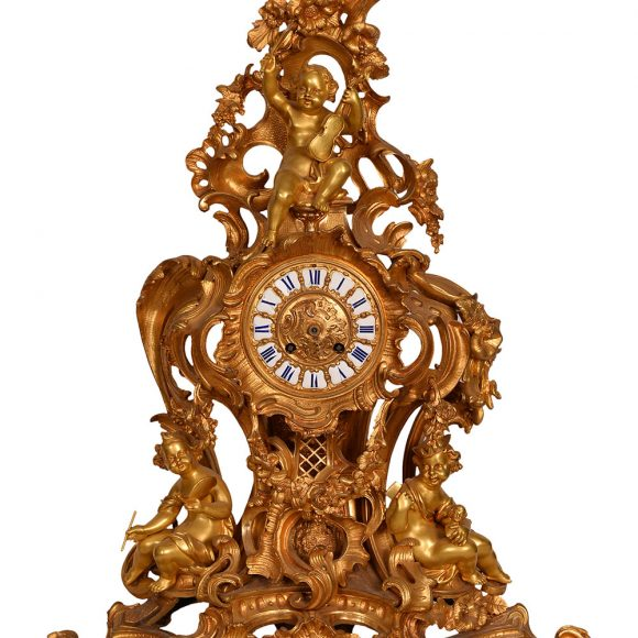 Pendule baroque – France