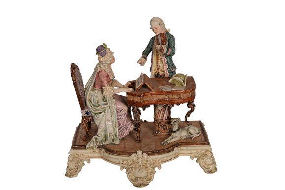 Groupe de figurines – Porcelaine