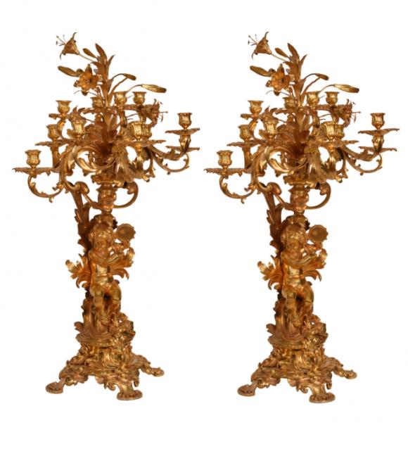 Paire Chandeliers – Louis XV