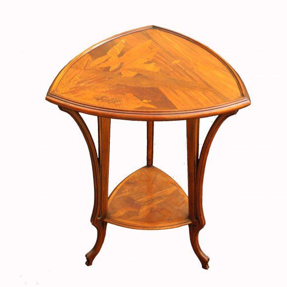 Guéridon Art Nouveau – Gallé