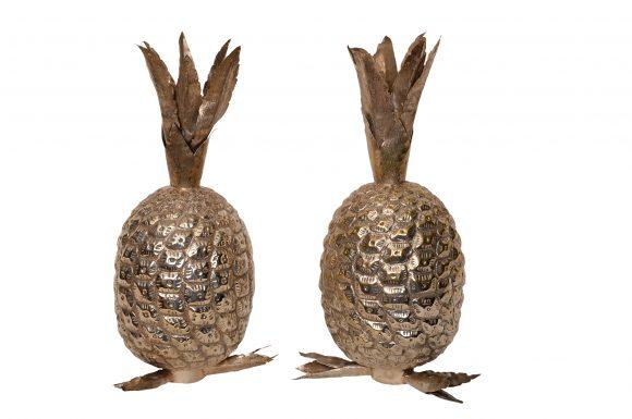 Paire d'Ananas – Argent