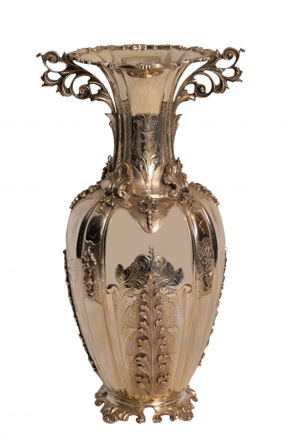 Beau Vase – Argent Massif Italien