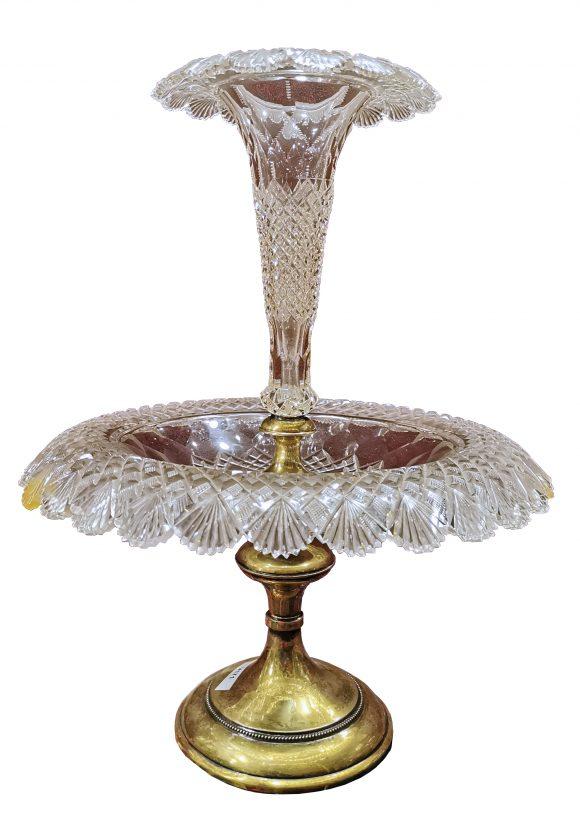 Centre de table – Cristal taillé