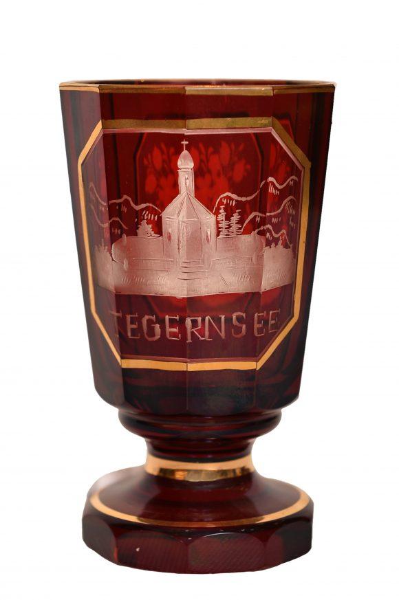 Gobelet commémoratif – Cristal de Bohême