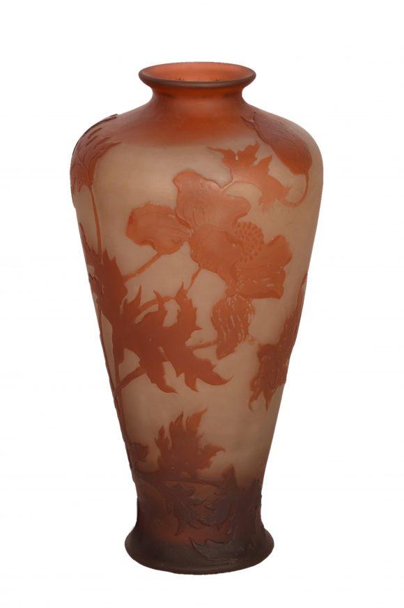 Beau vase – signé Gallé