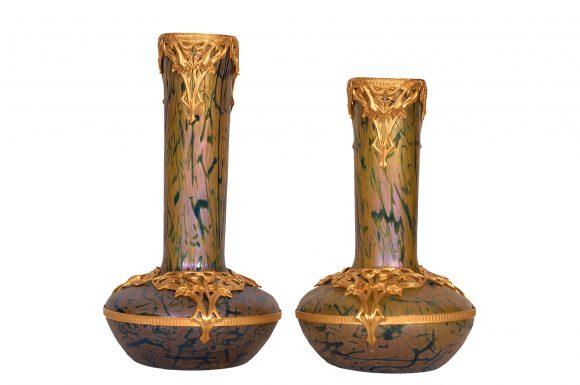 Lot de deux Vases – Loetz