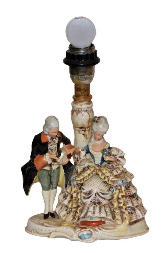 Groupe de figurines – Porcelaine Allemand