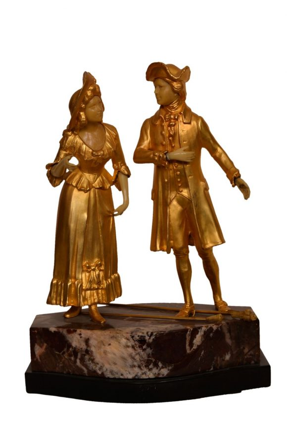 Gentilhomme et sa dame
