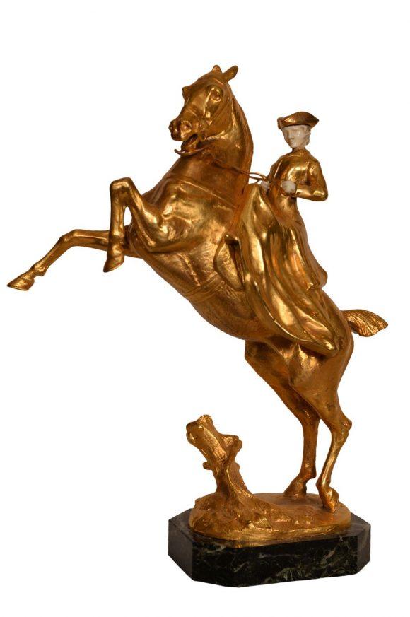 Femme au cheval cabré – Joséphine Bloch
