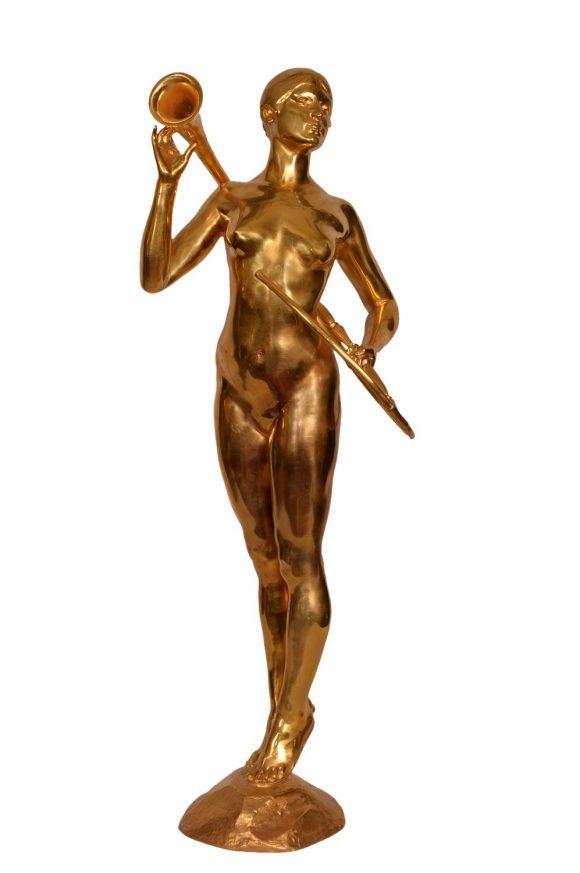 Femme au grand cor – Paul Roussel