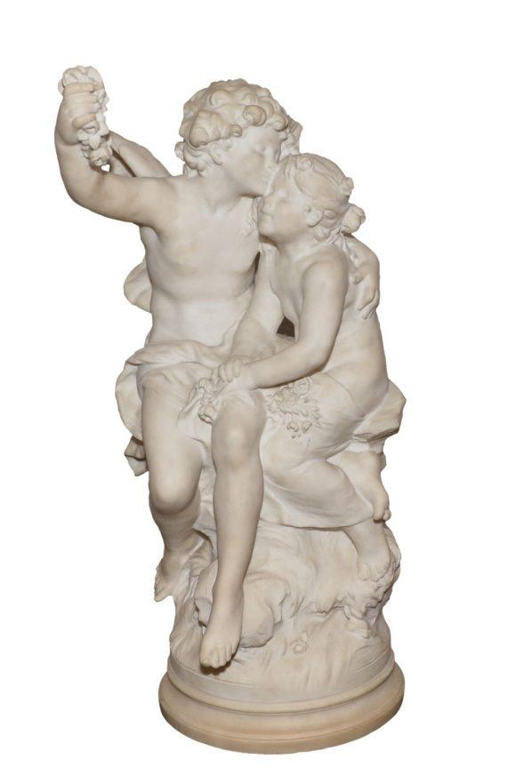 Le baisé – Auguste Moreau