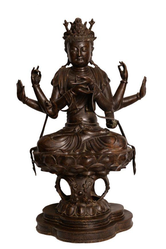 Buddha – Sculpture en bronze