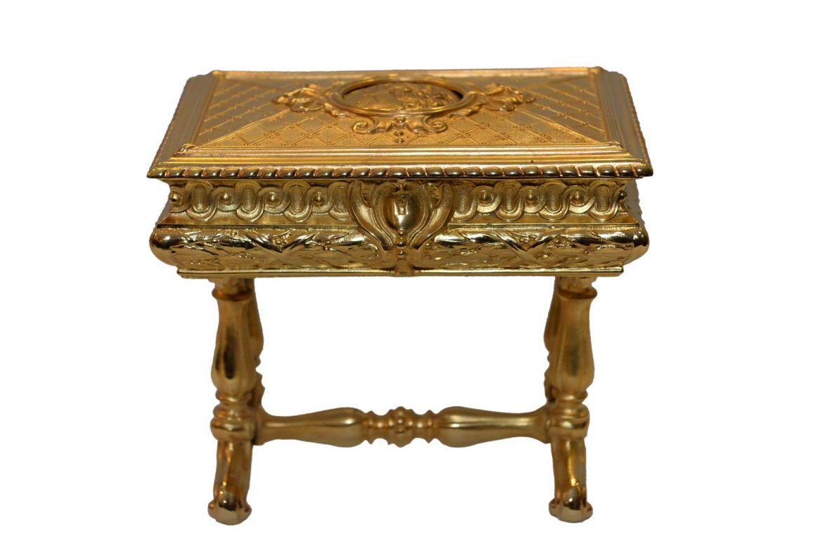 Coffret Napoléon III en bronze